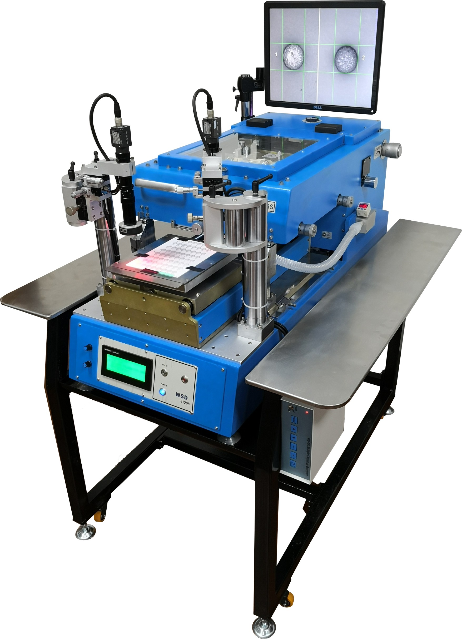 J1206C厚膜通孔印刷機